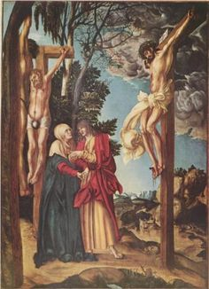 The Crucifixion, 1503, Lucas Cranach the Elder