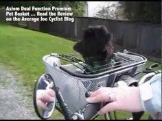 Best Bike Pet Bike Basket under $80 - Axiom Dual Function Premium Pet Basket