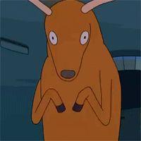 best caption wins the deer hand award (made of real deer hands)