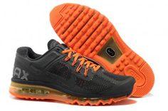 brand new d7c90 17e7e Nike Air Max 2013 Mens Black Orange Running Shoes Nike Roshe, Orange Shoes,  Orange