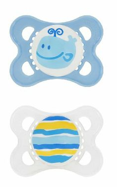 Highest Rated Pacifier: Amazon.com: MAM 2 Pack Original Silicone Pacifier, 0-6 Months, Colors May Vary: Baby