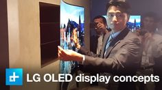 LG Flexible OLED design at IFA 2105