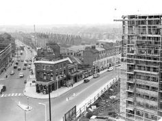 Falcon Pub • Kilburn Lane • 1950s London History, Local History, London Pubs, Old London, Maida Vale, Social Housing, Tutankhamun, London Photos, West Side