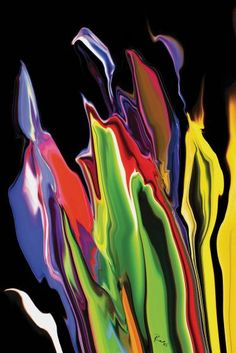 "Saatchi Art Artist Rabi Khan; New Media, ""Flowers of Eden 4"" #art"