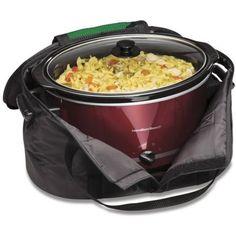 Hamilton Beach Crock Caddy Insulated Slow Cooker Bag - Walmart.com