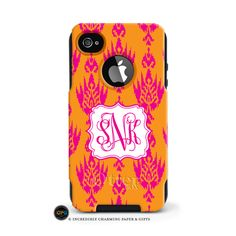 This personalized Otterbox case provides the best protection for you iPhone. Customize your case with a huge selection of patterns and designs.