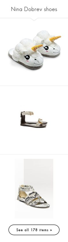 """Nina Dobrev shoes"" by marilia13 ❤ liked on Polyvore featuring shoes, slippers, pajamas, pijamas, sapatos, sandals, flat footwear, tory burch shoes, flat sandals and tory burch footwear"