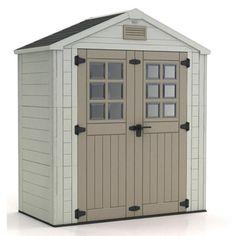 19 best travaux images on pinterest gardens garden storage shed and backyards. Black Bedroom Furniture Sets. Home Design Ideas