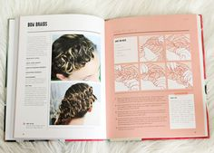 Bow Braid Tutorial from Braids, Buns, and Twists