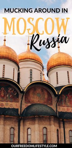 Must Do's In Moscow, Russia. Moscow was our favourite city in Russia, with unique architecture and loads of history to learn about. Here are a few things you can get up to while visiting. Europe On A Budget, Europe Travel Guide, Asia Travel, Solo Travel, Travel Tips, Travel Destinations, Visit Russia, Best Campgrounds, Unique Architecture