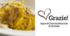 2017 - Sagra del Tartufo Marzuolo -Marzuolo Truffle Fair, March 10-12, March 17-19, and March 24-26, in Certaldo (Florence); food booths featuring many traditional specialties prepared with local truffles, wine and desserts open at 8 p.m. and on Sundays also at midnoon.