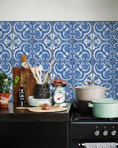 Backsplash MEDITERRANE KitchenWalls