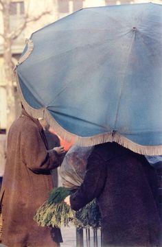 Blue Umbrella Saul Leiter, 1950