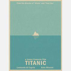 Titanic inspired poster