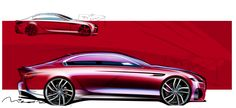 2016 Jaguar XF sketch