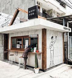Best Home Decoration Stores Cafe Shop Design, Small Cafe Design, Kiosk Design, Cafe Interior Design, Bakery Design, Design Design, Small Coffee Shop, Coffee Store, Coffee Coffee