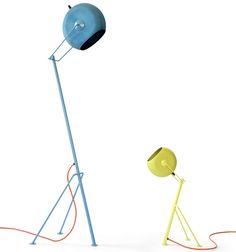 Pillhead lamps by A+Z Design.