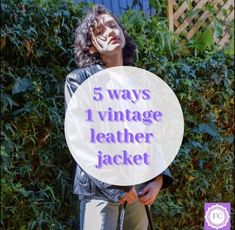 Vintage Leather Jacket, 5 Ways, Ootd, Jackets, Down Jackets, Jacket