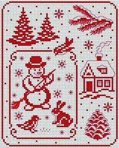 Christmas...   Вышивка крестом / Cross stitch