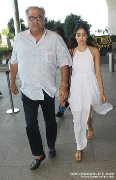 Jhanvi Kapoor stuns in a not-so-glamorous avatar at the airport – view HQ pics #FansnStars