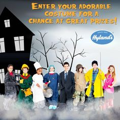 #Win a Hyland's Prize Package in the Halloween Costume Contest!