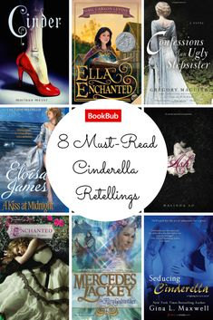 How many of these #Cinderella retellings have you read?