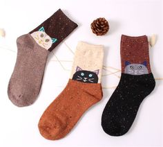 Cheap wool ankle socks, Buy Quality sock 3d directly from China wool winter socks Suppliers:  Design for Winter !Cat face Wool socks   Note:a lot include 3 colors.If you want to change colors,do please leave your