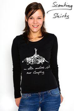 #Camping...? - Wir gehen #zelten... und du? T-Shirts ab 17,90 Euro Pullis ab 29,90 Euro
