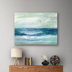 ArtWall Silvia Vassileva's Tide Gallery-Wrapped Canvas