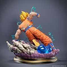 Dbz Gt, Ssj3, Manga Characters, Collector Dolls, Live Action, Dragon Ball Z, Action Figures, 3d Printing, Anime Art