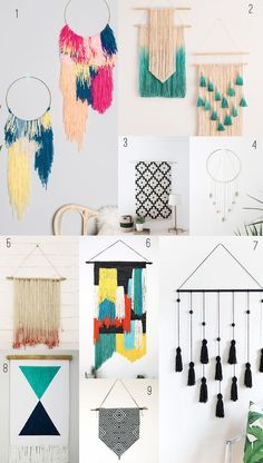 Hope everyone is ready for the long weekend! Any fun plans?? I will be hanging with family and most… The post 9 AMAZING DIY WALL HANGINGS appeared first on Tell Love and Chocolate.