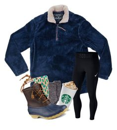 """""""I'll do q&a in the comments"""" by magsvolleyball2 ❤ liked on Polyvore featuring True Grit, NIKE, Chan Luu and Sperry"""