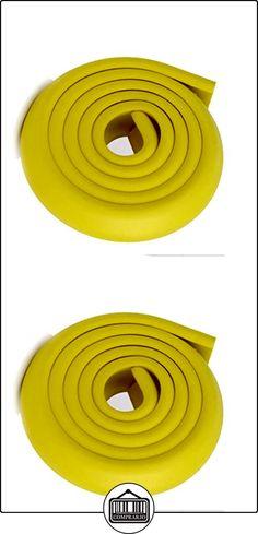 a-nam Juego de 2* 2m regla seguro borde agradable al tacto la seguridad de bebés de esquinas de mesa lesiones Lemon  ✿ Seguridad para tu bebé - (Protege a tus hijos) ✿ ▬► Ver oferta: http://comprar.io/goto/B01NBOEPUV