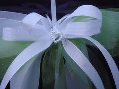 SCH0053 10 Antennenschleifen Autoschleife Hochzeit von unser schönster Tag auf DaWanda.com