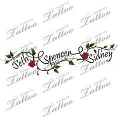 Image from http://www.tattoobite.com/wp-content/uploads/2014/03/kids-name-n-ivy-vine-tattoo-design.jpg.