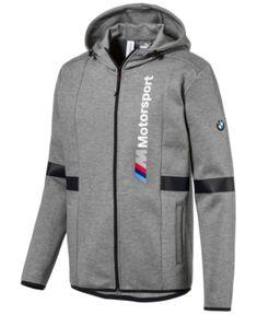 0cd68262ff Puma Men's Bmw Zip Hoodie - Gray XXL Grey Hoodie, Gray Jacket, Zip Hoodie