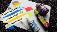Livro de Colorir - O que você não deve usar   Luciana Queiróz