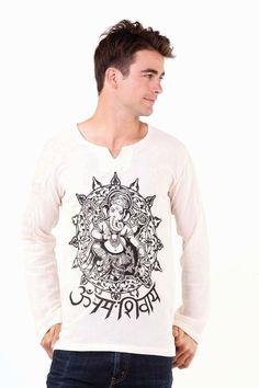 Hemp Cotton Plain White/grey Grandad Shirt,comfort Loose Fit Neplease Clothing Casual Button-down Shirts