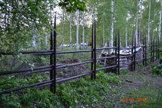 Heinäseiväsaita takapihalla Garden Bridge, Recycling, Yard, Outdoor Structures, Green, Summer, Fences, December, Outdoors