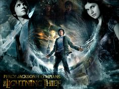 Percy Jackson-The Lightning Thief Percy Jackson Lightning Thief, Percy Jackson Movie, The Lightning Thief, Percy Jackson Fandom, Percy Jackson Wallpaper, Alex Fierro, Incredible Film, Sea Of Monsters, Percy And Annabeth
