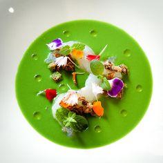 Antonino Cannavacciuolo Raw Food Recipes, Gourmet Recipes, Michelin Star Food, Modernist Cuisine, Food Gallery, Weird Food, Food Decoration, Mets, Molecular Gastronomy
