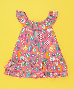 Vestido baby rosa e verde bb African Dresses For Kids, Little Girl Dresses, Girls Dresses, Cute Kids Fashion, Toddler Fashion, Girl Fashion, Toddler Girl Style, Kids Frocks, Maxi Robes