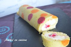 roulé citron framboise Flexipan plat Bakery, Cheesecake, Desserts, Cooking Ideas, Everything, Sugar Paste, Raspberry, Sweet Recipes, Tailgate Desserts