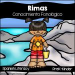 Spanish Summer Rhyming Stations