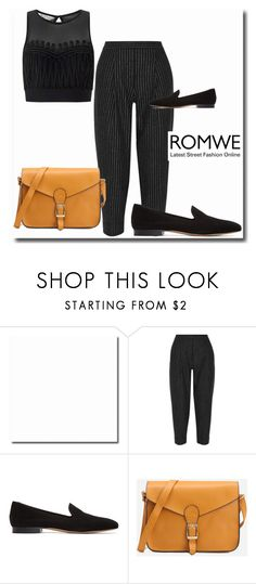 """""""Romwe"""" by mikica-kiki ❤ liked on Polyvore featuring DKNY, Mansur Gavriel and Miss Selfridge"""