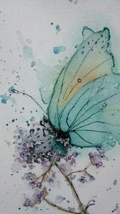 Watercolor by Marisete Fachini Girardello