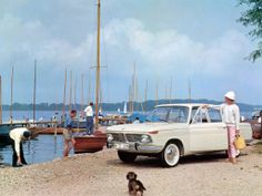 An idea that spawned a generation of 'affordable' driving machines, the 1962 BMW 1500 brought BMW back into business. Bmw 750i, Bmw Cars, Bmw 2002 Ti, Austin Seven, Bmw 6 Series, Vintage Ski, New Class, Limousine, Vintage Photographs