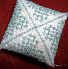 Whitework Embroidery: Hardanger Ornament III + Tassels Tutorials!                                                                                                                                                      More