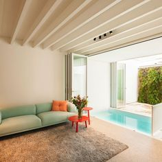 Small-Indoor-Pool-nested-in-a-Tiny-Minimalist-Belgium-House
