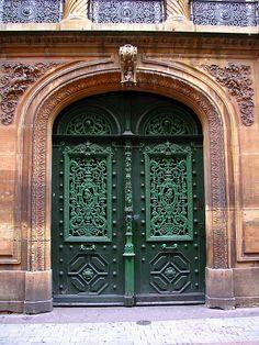 Door, Metz, France